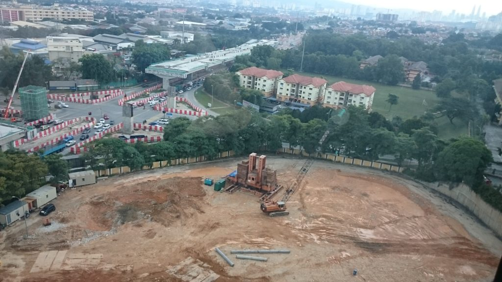 Actual Construction Site as at 23rd July 2016