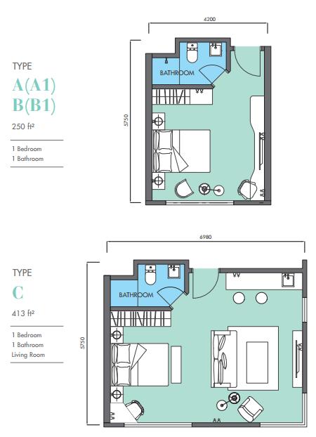 EkoCheras Hotel Suite Floor Plan