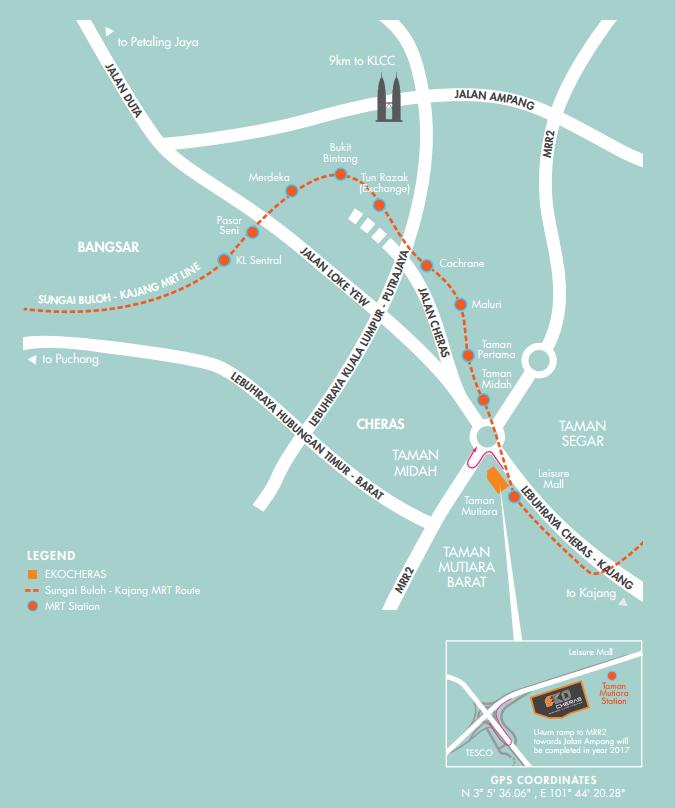EkoCheras Location