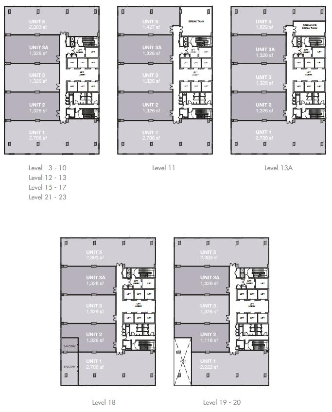 EkoCheras Office Suite Floor Plan