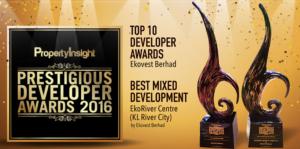 Ekovest Berhad Award