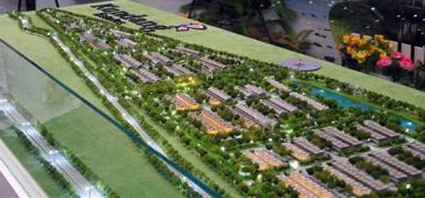 Kundang Estates Scale Model