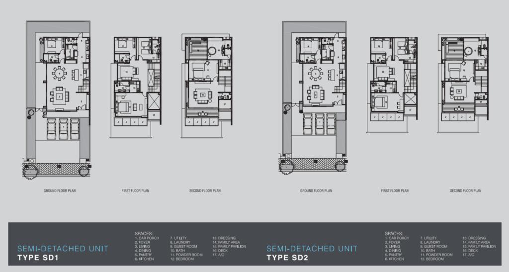 Marvelane Homes Semi-D Layout