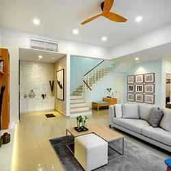 kundang estates terrace house