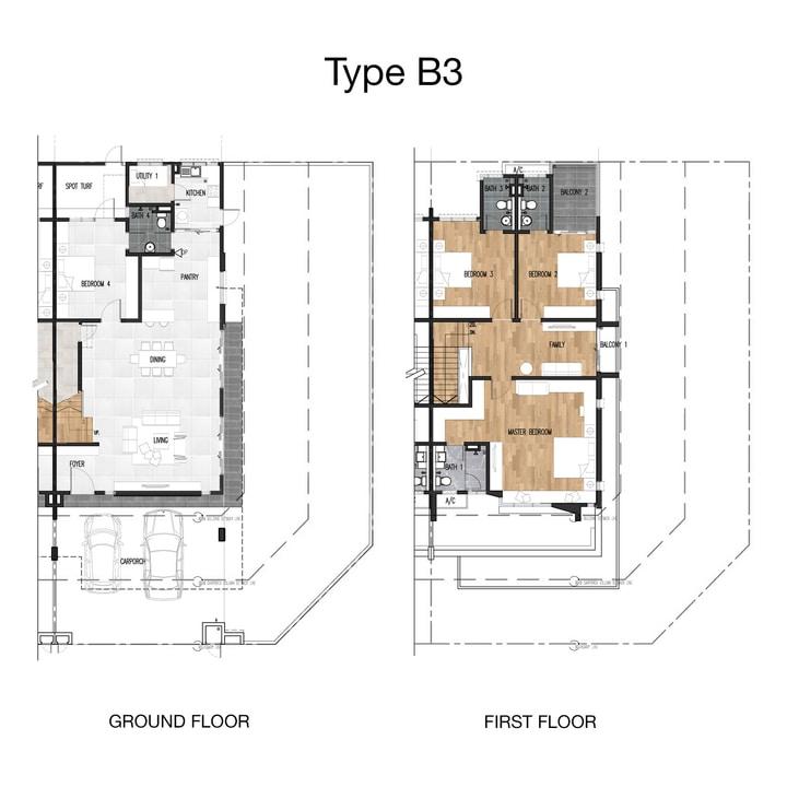 Joya Floor Plan Type C3